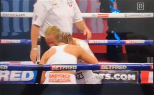 [Opinion] Ebanie Bridges left with gruesome eye injury after brutal Shannon Courtenay bout
