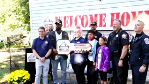 Virginia veteran surprised with new Chester home