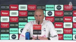 Real Madrid manager Zinedine: Zidane: Let's see what Paris Saint-Germain star Kylian Mbappe wants...
