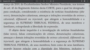 Moraes includes Bolsonaro in fake news investigation for attacks on electronic voting machines