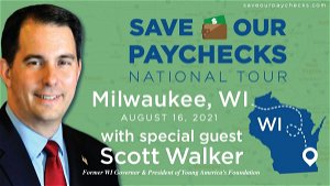 Scott Walker Joins Heritage Action Save Our Paychecks Tour