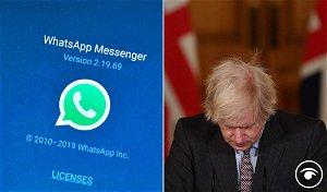 Johnson's texting style lambasted following Cummings WhatsApp revelations
