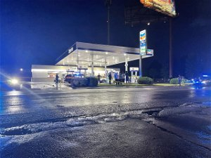 Police: Two people shot at Chevron on Monroe Drive