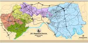 Henrico County creates draft plan for reapportionment of five magisterial districts based on population