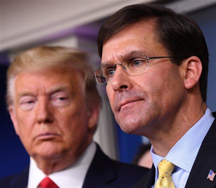Officials Say Defense Secretary Mark Esper Took Lead on Gen. Milley's Calls to China
