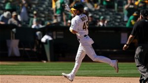 Skye Bolt strikes for first MLB homer in Athletics' 11