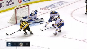 Maxime Lagace Records First NHL Shutout As Penguins Beat Sabres 1-0 In Regular Season Finale