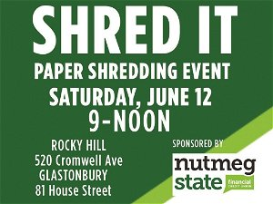 Nutmeg State Financial Credit Union hosts annual SHRED IT event Saturday