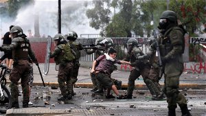 Street Protests Flare in Anniversary of Chile's Social Uprising